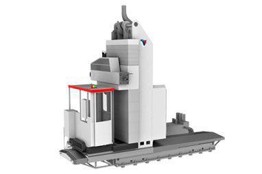 WRF 130 CNC - Portable Floor Type Boring Mill