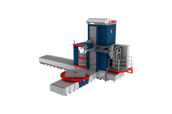 WRF 130/150/160 CNC - Floor Type Horizontal Boring Machine